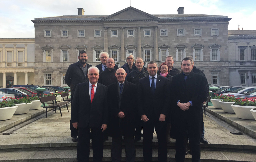 Murdered Seamus Ludlow's family take justice campaign to Dail