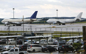 Boeing 747s in lost property at Kuala Lumpur airport