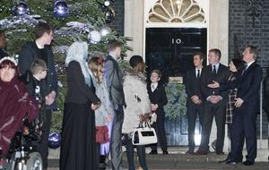Co Down woman turns on No 10's Christmas Tree lights