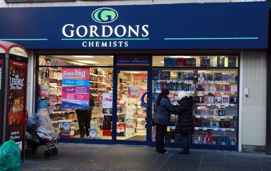 Profits double at Gordons Chemists chain