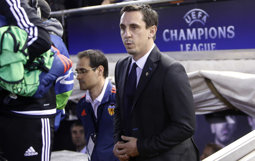 Gary Neville does not see himself managing Man Utd