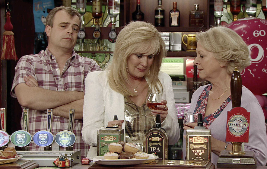 Soap characters drink too much booze, say experts - The Irish News