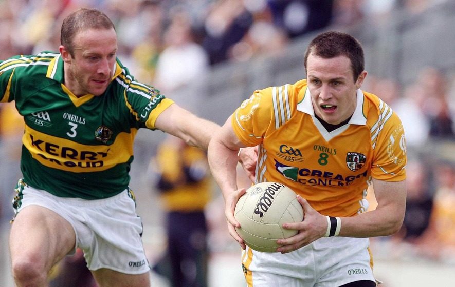 Michael McCann back in the Antrim saddle for 2016