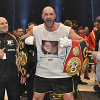 Tyson Fury still in running to win Sports Personality of the Year despite opposition