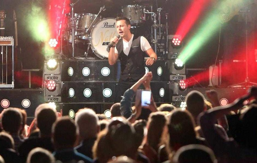 Nathan Carter: Christmas with family's Where I Wanna Be