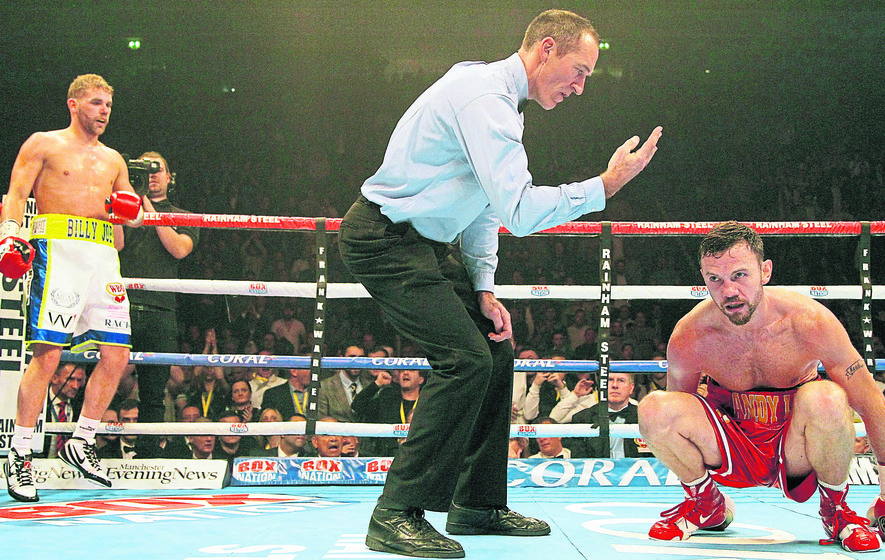 Nightmare third round cost me World Title admits Andy Lee