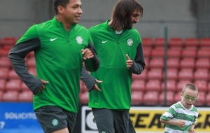 Jay tells of pride as he signs up for Celtic FC Foundation