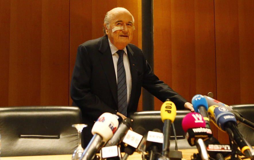 Blatter and Platini banned for eight years by Fifa