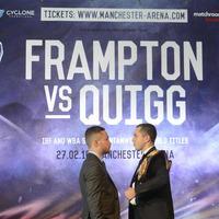 Carl Frampton-Scott Quigg showdown the focus for 2016