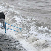 Flights grounded and roads closed as Storm Frank lashes