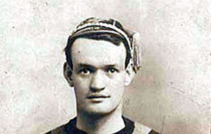 Football legend with Belfast links remembered