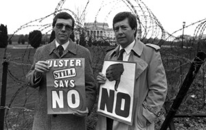 Peter Robinson imagined as Ulster PM in united Ireland