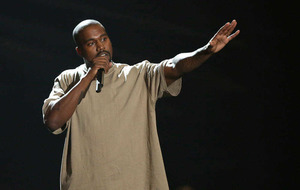 Kanye West booed over Donald Trump backing